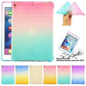 Ultra Thin TPU Silicone Back Case Cover For iPad 2 3 4 5 6 Mini Air2 PRO 11 2018