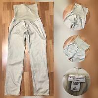 Liz Lange Women Casual Formal Maternity Pants Khaki Size 8