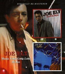 Joe Ely Musta Notta Gotta Lotta/Hi-Res 2on1 CD NEW SEALED Digitally Remastered