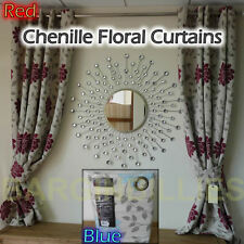 French Country Floral Eyelet Top Curtains & Pelmets