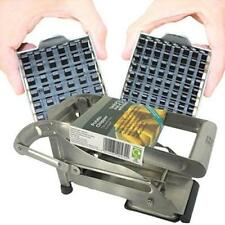Vegetable And Potato Chip Cutter Professional Grade Steel Interchangeable Blades