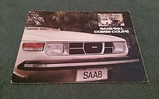 1975 1974 SAAB 99 L Combi Coupe 3 Door 1975 Model Year UK BROCHURE