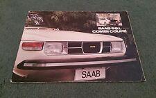 1975 1974 SAAB 99 L Combi Coupe 3 Door 1975 Model Year UK BROCHURE
