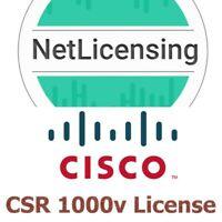 Cisco CSR 1000v License, Original Smart License, E-Delivery