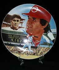 """""""The Best of Baseball"""" Pete Rose Platinum Edition Collector's Plate-Signed"""
