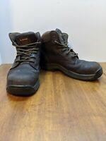 Dr Martens Mens Industrial Composit Toe Brown Boots ASTM F2413-11 Mens Size 7
