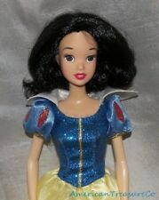 Rare Disney Store CLASSIC PRINCESS SNOW WHITE Jointed Fashion Doll w/Gown