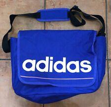 Adidas Shoulder Messenger Bag Satchel Laptop Bag In Purple