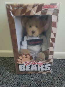 Rare Nascar Racing Bear Dale Earnhardt The Intimidator From Action 2002 NEW
