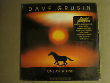 DAVE GRUSIN ONE OF A KIND LP '84 GRP SYNTH JAZZ FUNK DIGITAL MASTER IN SHRINK!