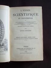 L'année scientifique et industrielle 1893