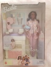 Barbie happy family baby doctor african american with babies