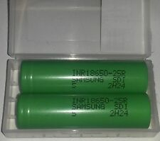 2X Samsung INR 18650 - Pile Rechargeable Li-ion INR 20A 2500mAh *NEUF*