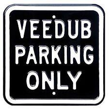VOLKSWAGEN VEEDUB Parking Only Sign. for Beetle Camper TRANSPORTER