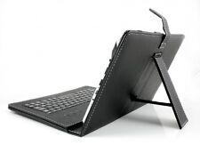 "Tablet PC Tasche aus Kunstleder USB Tastatur  9,7 - 10"" Android + Windows QWERTZ"