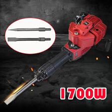 1700w Gas Gasoline Demolition Jack Hammer 52cc Concrete Breaker Punch Drill Sale