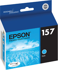Genuine Epson T157220 Cyan Ink Cartridges Stylus Photo R3000 (OUT OF DATE)