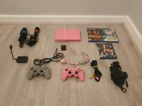 Sony PlayStation PS2 Slim Pink Console bundle