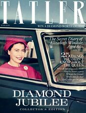 TATLER,QUEEN ELIZABETH  Diamond Jubilee,Willow,ELIZABETH WINDSOR,Keith Dovkants