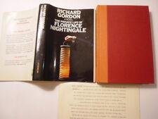Richard Gordon, Private Life of Florence Nightingale, DJ, 1st, Review Copy