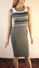 Chanel CC Pearl Beaded Metallic Knit Dress Size FR 40 $1800