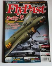 Flypast Magazine 2017 August USA Eighth Air Force B-17,B-24,Sally B,Avro Lincoln