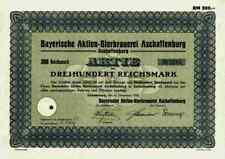 Bayerische Bierbrauerei 1933 Aschaffenburg BABA Binding Radeberger Wiesbaden 300