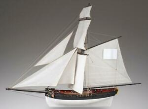 The Cerf Ship IN Wood 1:72 Wooden Ship Dusek