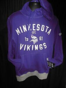 Minnesota Vikings NFL Men's G-III Hooded Embroidered Sweatshirt Small or Medium