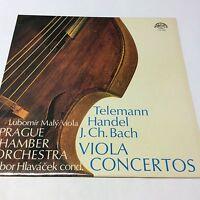 Vinyl LP Handel Concerto In B Minor Prague Chamber Orchestra EX/EX 1110 1057
