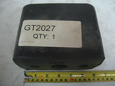 "Semi Commercial Truck Trailer Rubber Bumper 2 Hole 5.75""X3.75""X4.5 "" Pdc # Gt2027"