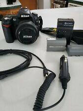Nikon D90 12.3MP Digital SLR Camera - Black w/35mm Nikon DX Lens, two batteries