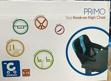 New Childcare Primo Teal Hook On Child High Chair Travel Compact