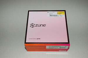Microsoft Zune 30 GB Pink Wi-Fi FM Radio AAC WMA MP3 Media Player Very Good Cond