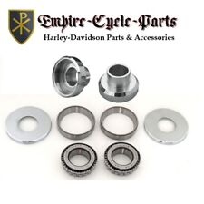 HARLEY NECK CUP BEARING KIT COMPLETE WITH DUST SHIELDS CHOPPER BOBBER CUSTOM