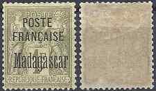 France Colony Madagascar N°21 Neuf with Original Gum Value