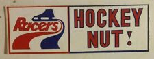 1970's Indianapolis Racers Team Logo Bumper Sticker Hockey Nut WHA