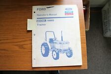 Ford New Holland 1920 Tractor Operators Manual