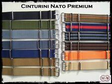 Cinturini Nato Premium misure: 18-20-22mm. Premium Nato Straps
