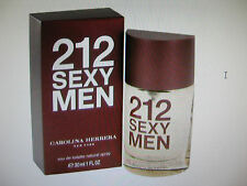 212 Sexy Men by Carolina Herrera  1.0 oz  Edt New in Box