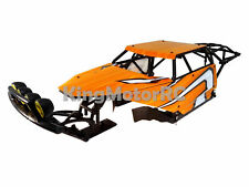 King Motor Class 1 HD Roll Cage (orange) Fits HPI Baja 5B SS 2.0 5T Rovan Buggy