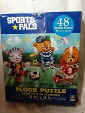 Sports Pals 48 Piece Floor Puzzle