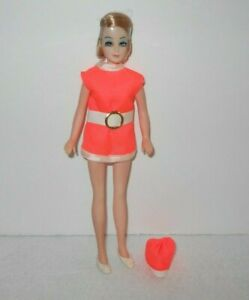 Vintage Doll DAWN Jessica Flight Attendant Stewardess 11c 1970s Topper