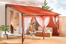 Rollpavillon Terrassendach 3x4m Terra NEU & OVP