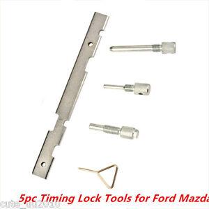 5Pcs Timing Tools Kit Camshaft Cam for Ford Mazda Fiesta Puma Focus Engine