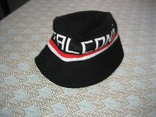 MENS Mitchell & Ness Knit Bucket Hat ATLANTA FALCONS S/M BLACK/RED/WHITE NWT