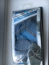 Snow Trax Anti Slip Grips Shoes Attachment Spikes Ice Grippers Traction  L/XL
