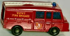 VINTAGE MATCHBOX #57 LAND ROVER FIRE TRUCK MADE IN ENGLAND BY LESNEY 1966