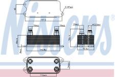 Oil Cooler 90909 for MERCEDES-BENZ CLS 220 BlueTEC / d 250 4-matic  HQ