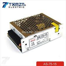 75W 15V 5A salida de volumen pequeño único Switching Power Supply